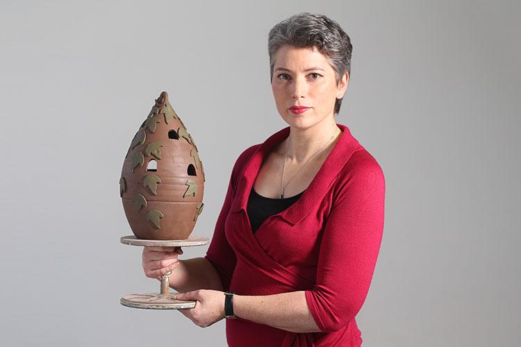 Lichen Ceramics by Bairbre Kennedy