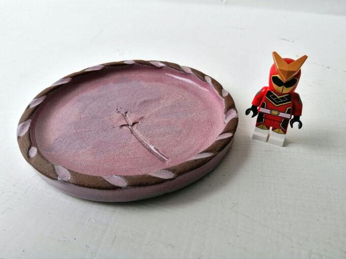 lichen-ceramics-coaster-pink