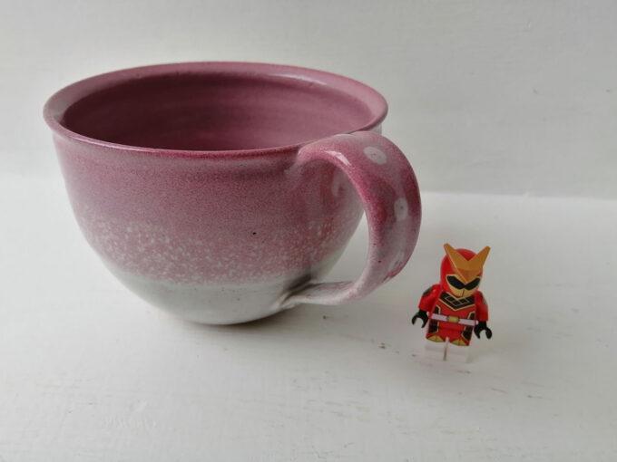 cappucino mug pink