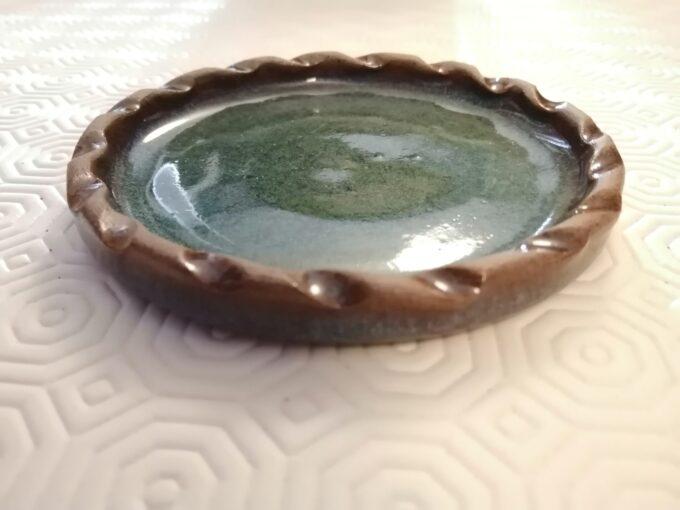 pottery coaster